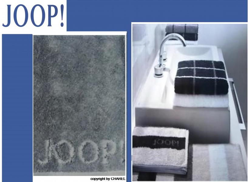 joop badematte duschmatte 1600 uni weiss silber 67 joop teppiche badmatten. Black Bedroom Furniture Sets. Home Design Ideas