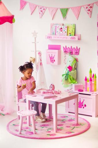 190846 kids concept scandic toys kinder betthimmel baldachin prinzessin rosa 240 ebay. Black Bedroom Furniture Sets. Home Design Ideas