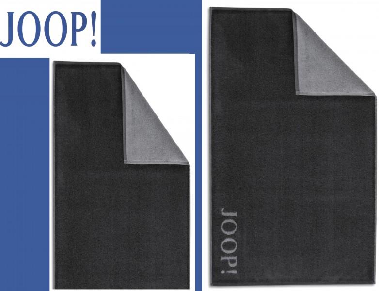 joop badematte duschmatte 1600 uni anthrazit schwarz col 79 joop joop teppiche badmatten. Black Bedroom Furniture Sets. Home Design Ideas